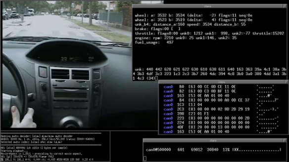 Hacking into a Vehicle CAN bus (Toyothack and SocketCAN) | fabiobaltieri